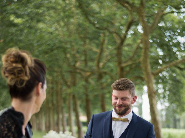 Le mariage de David et Céline à Tillières, Maine et Loire 1