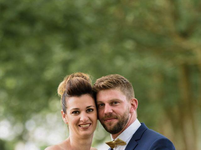 Le mariage de David et Céline à Tillières, Maine et Loire 4