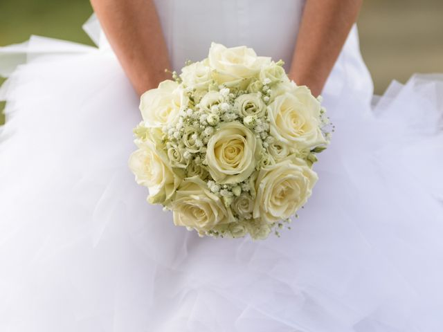 Le mariage de David et Céline à Tillières, Maine et Loire 5