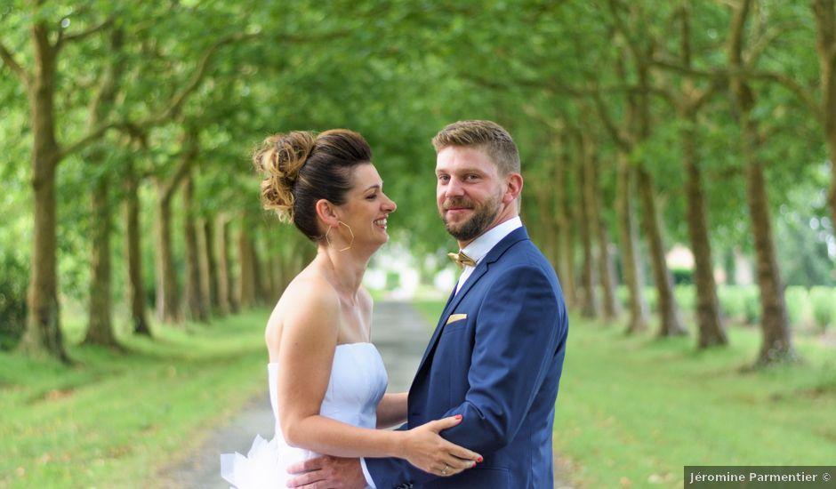 Le mariage de David et Céline à Tillières, Maine et Loire