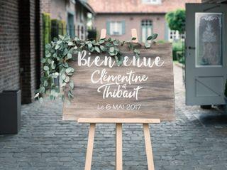 Le mariage de Clémentine et Thibaut 1