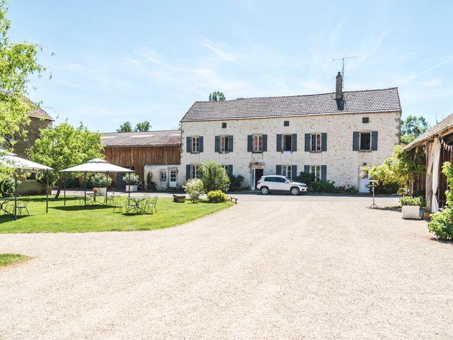 Le mariage de Vincent et Noémie à Courson-les-Carrières, Yonne 9