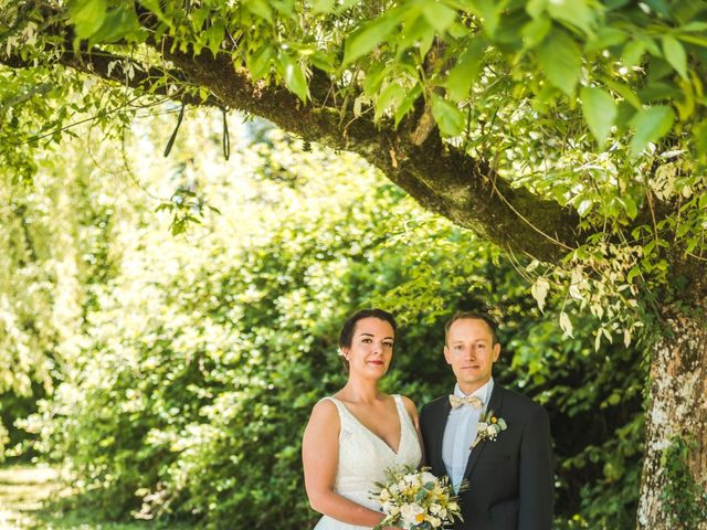 Le mariage de Vincent et Noémie à Courson-les-Carrières, Yonne 18