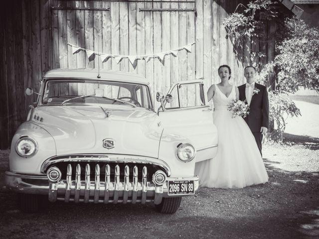 Le mariage de Vincent et Noémie à Courson-les-Carrières, Yonne 21