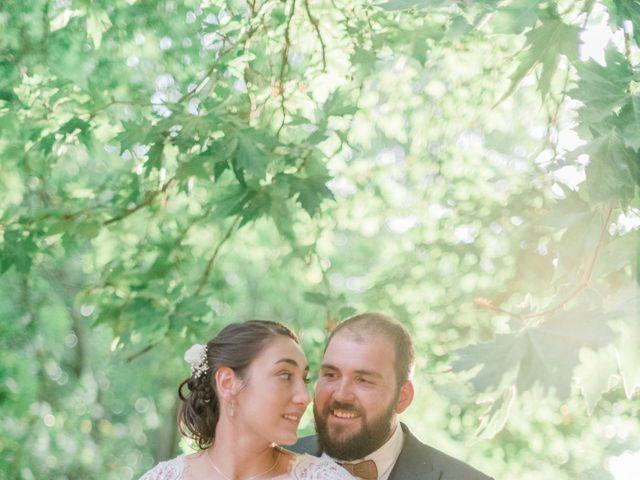 Le mariage de Kevin et Leslie à Bazoches, Nièvre 154