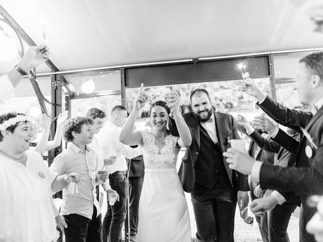 Le mariage de Kevin et Leslie à Bazoches, Nièvre 163