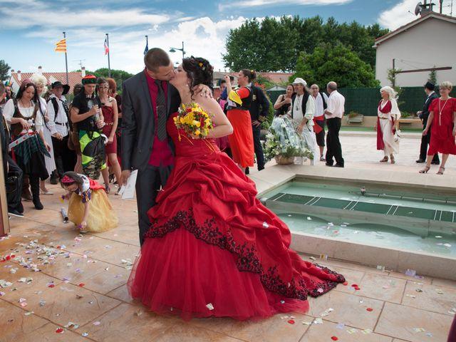 Le mariage de Julien et Adeline à Bompas, Pyrénées-Orientales 32