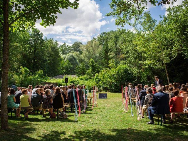 Le mariage de Mathieu et Danaé à Bleury, Eure-et-Loir 27