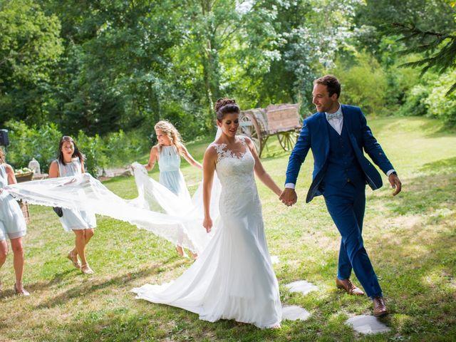 Le mariage de Mathieu et Danaé à Bleury, Eure-et-Loir 34