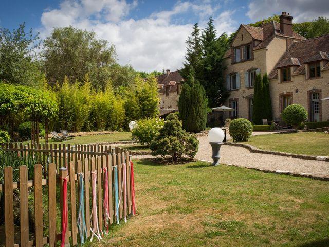Le mariage de Mathieu et Danaé à Bleury, Eure-et-Loir 1
