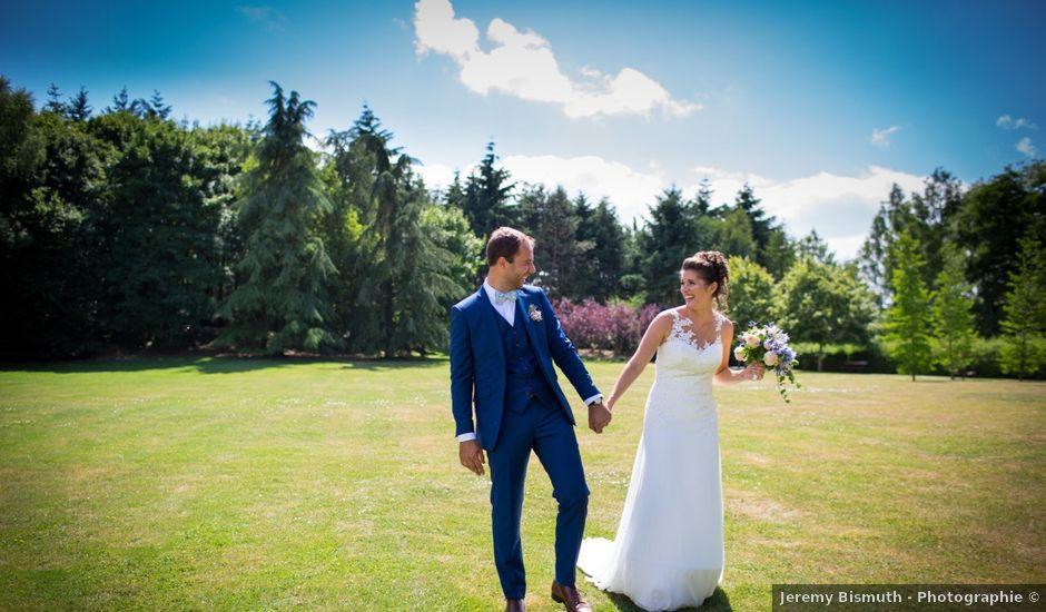 Le mariage de Mathieu et Danaé à Bleury, Eure-et-Loir
