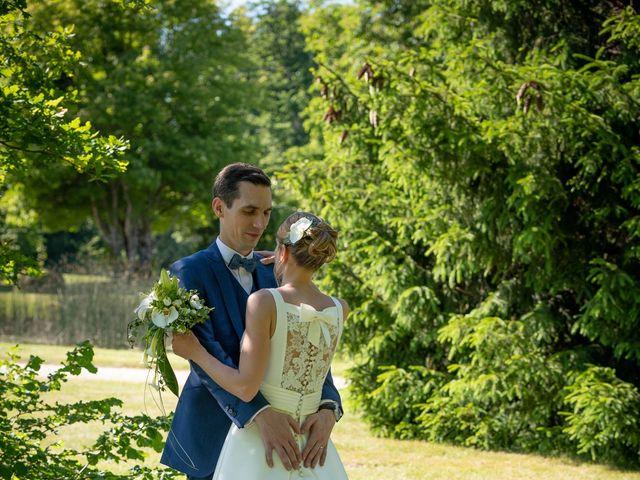 Le mariage de Romain et Caroline à La Ferté-Saint-Aubin, Loiret 36