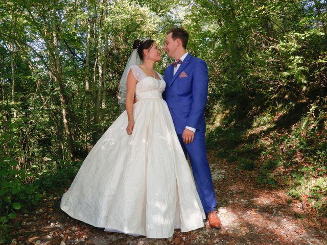 Le mariage de Damien et Baylag à Vignieu, Isère 1