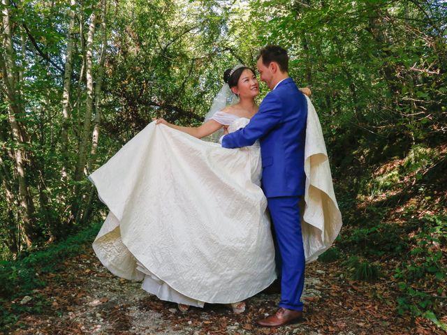 Le mariage de Damien et Baylag à Vignieu, Isère 4