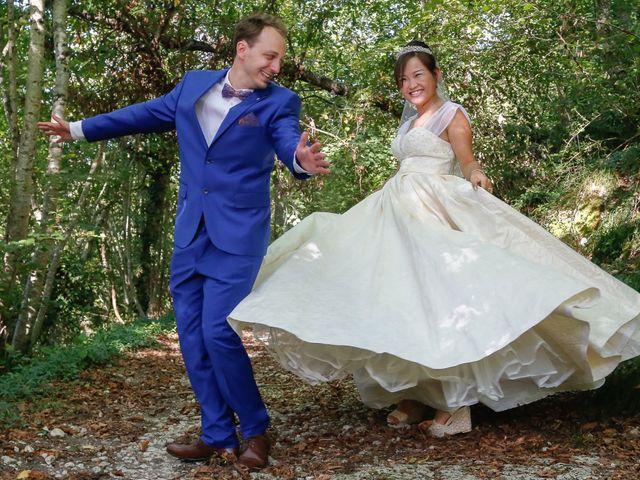 Le mariage de Damien et Baylag à Vignieu, Isère 5