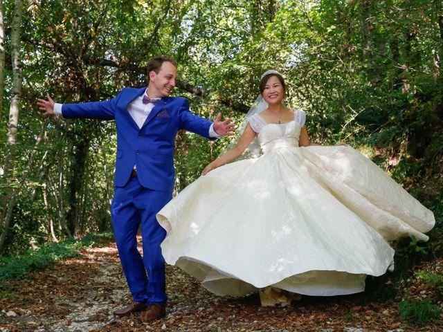 Le mariage de Damien et Baylag à Vignieu, Isère 6