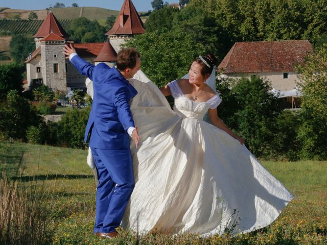 Le mariage de Damien et Baylag à Vignieu, Isère 8
