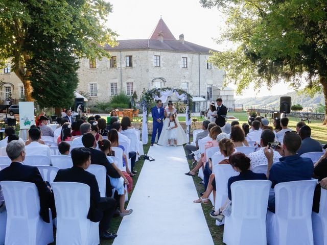 Le mariage de Damien et Baylag à Vignieu, Isère 9