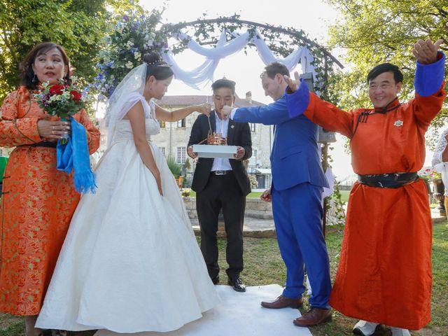 Le mariage de Damien et Baylag à Vignieu, Isère 11