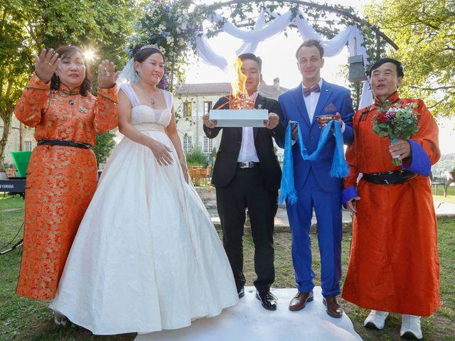 Le mariage de Damien et Baylag à Vignieu, Isère 12
