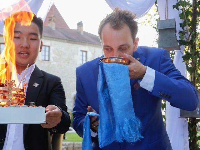 Le mariage de Damien et Baylag à Vignieu, Isère 13