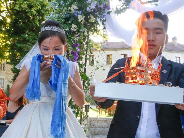 Le mariage de Damien et Baylag à Vignieu, Isère 14