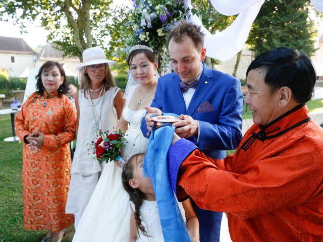 Le mariage de Damien et Baylag à Vignieu, Isère 15