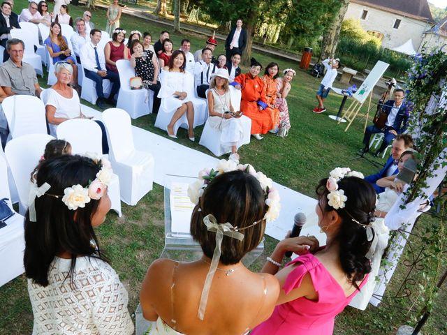 Le mariage de Damien et Baylag à Vignieu, Isère 16