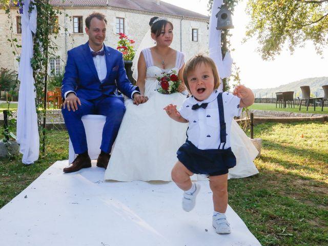 Le mariage de Damien et Baylag à Vignieu, Isère 17