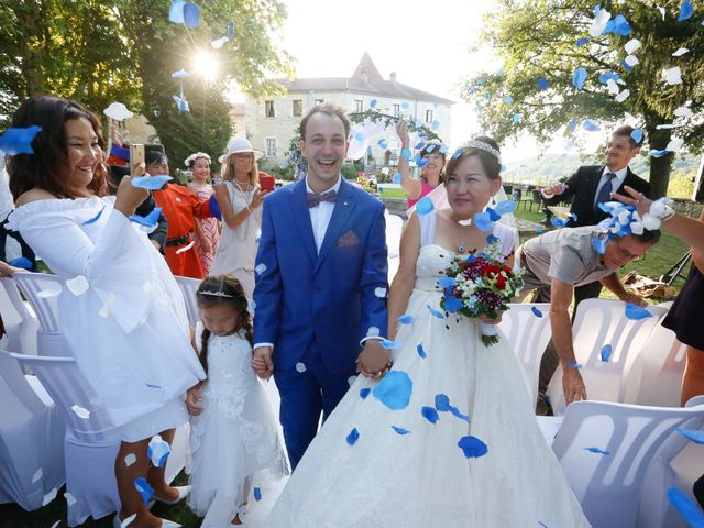 Le mariage de Damien et Baylag à Vignieu, Isère 18