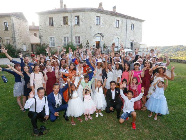 Le mariage de Damien et Baylag à Vignieu, Isère 21
