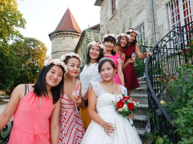Le mariage de Damien et Baylag à Vignieu, Isère 23