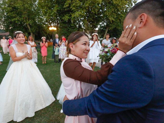 Le mariage de Damien et Baylag à Vignieu, Isère 26