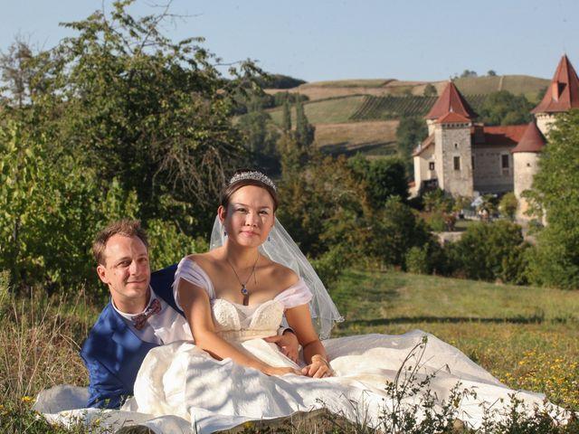 Le mariage de Damien et Baylag à Vignieu, Isère 36