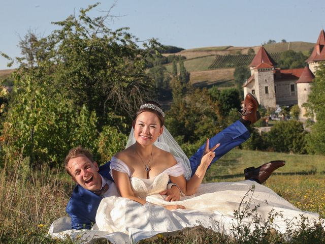 Le mariage de Damien et Baylag à Vignieu, Isère 37