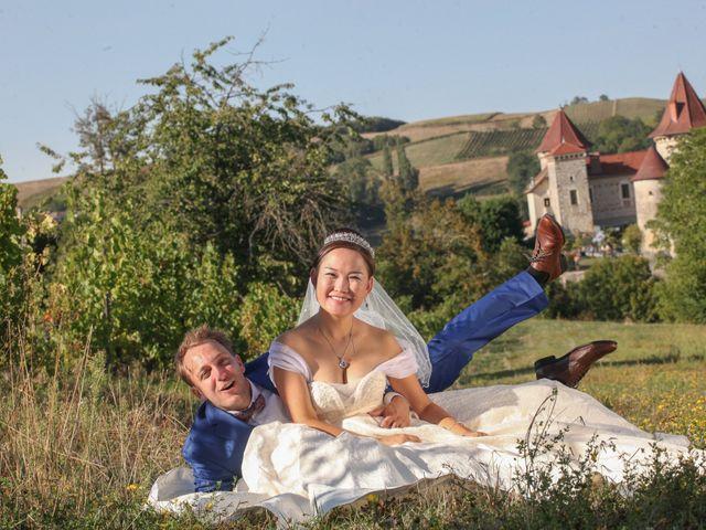 Le mariage de Damien et Baylag à Vignieu, Isère 38