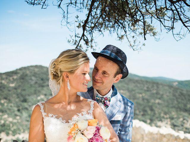 Le mariage de Pieter et Rietje à Saint-Tropez, Var 8