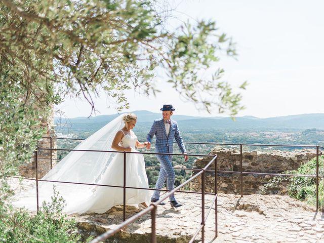 Le mariage de Pieter et Rietje à Saint-Tropez, Var 11