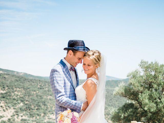 Le mariage de Pieter et Rietje à Saint-Tropez, Var 12