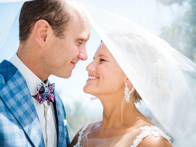 Le mariage de Pieter et Rietje à Saint-Tropez, Var 13