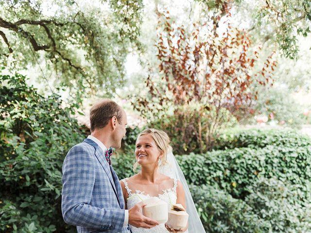 Le mariage de Pieter et Rietje à Saint-Tropez, Var 22