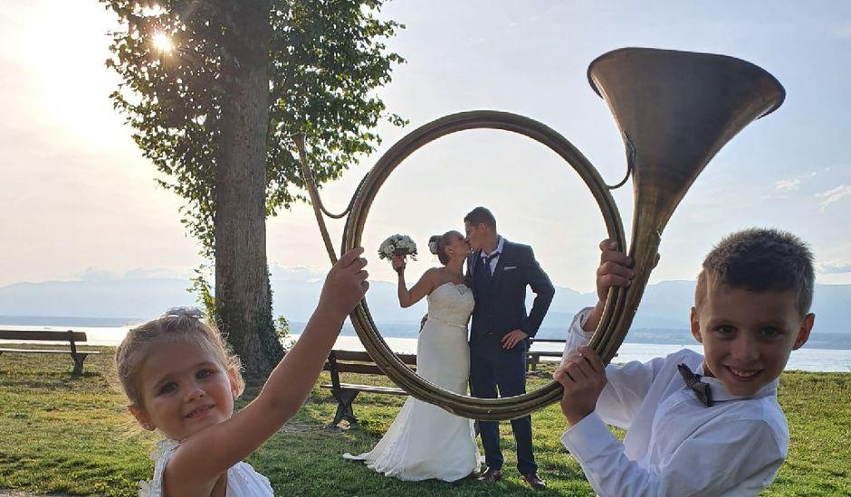 Le mariage de Jonathan  et Ophélie  à Lully, Haute-Savoie