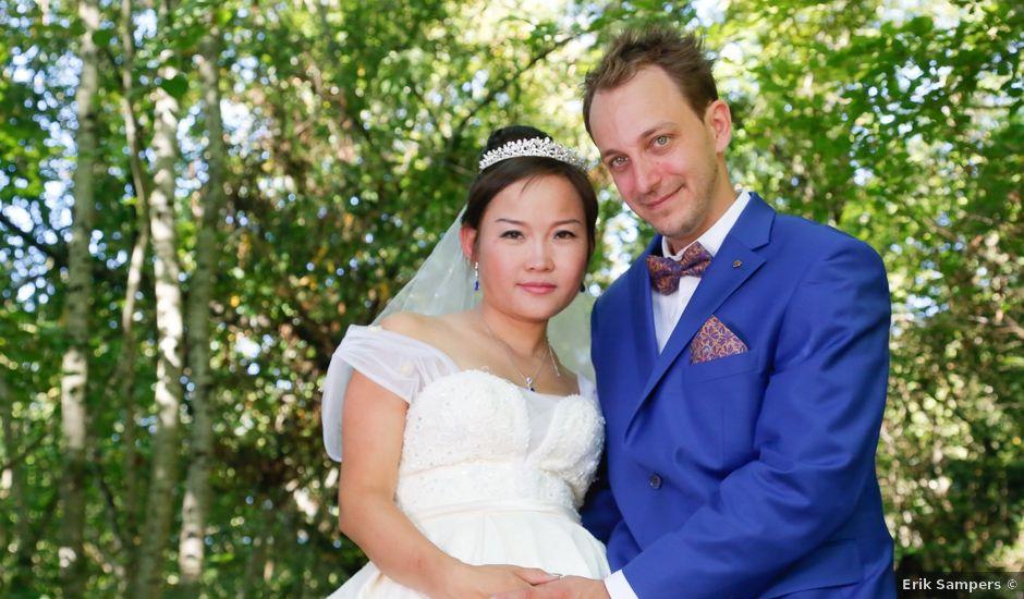 Le mariage de Damien et Baylag à Vignieu, Isère