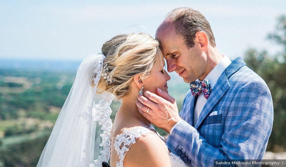 Le mariage de Pieter et Rietje à Saint-Tropez, Var