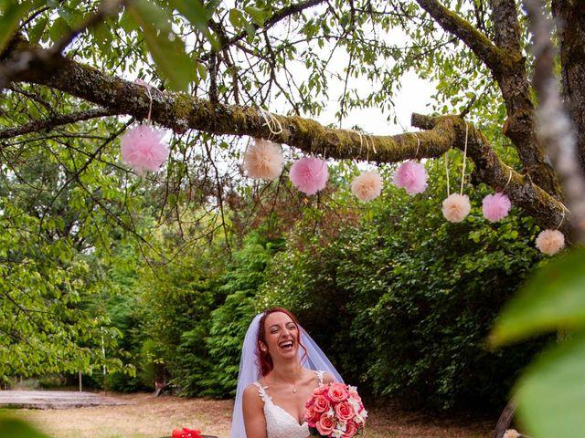 Le mariage de Sébastien et Virginie à Châtelus-le-Marcheix, Creuse 15