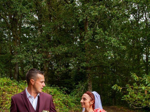 Le mariage de Sébastien et Virginie à Châtelus-le-Marcheix, Creuse 18