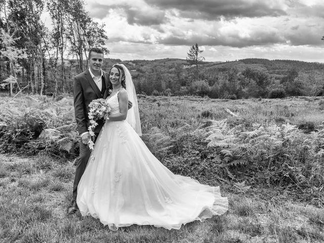 Le mariage de Sébastien et Virginie à Châtelus-le-Marcheix, Creuse 21