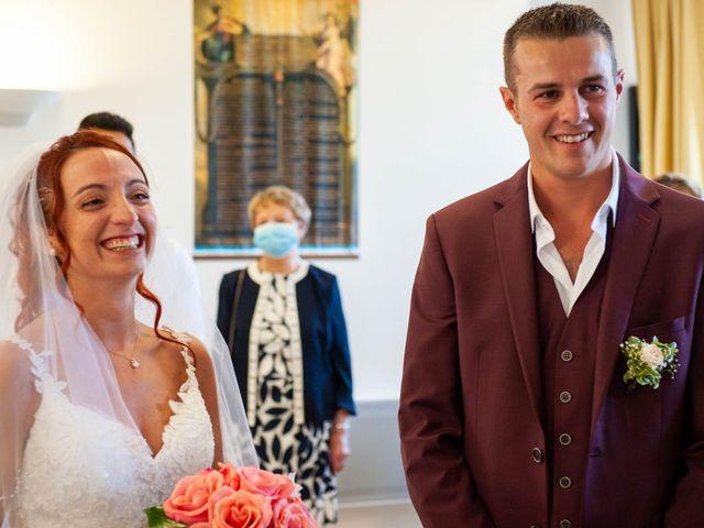 Le mariage de Sébastien et Virginie à Châtelus-le-Marcheix, Creuse 28