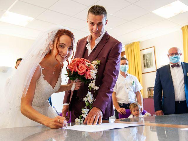 Le mariage de Sébastien et Virginie à Châtelus-le-Marcheix, Creuse 29