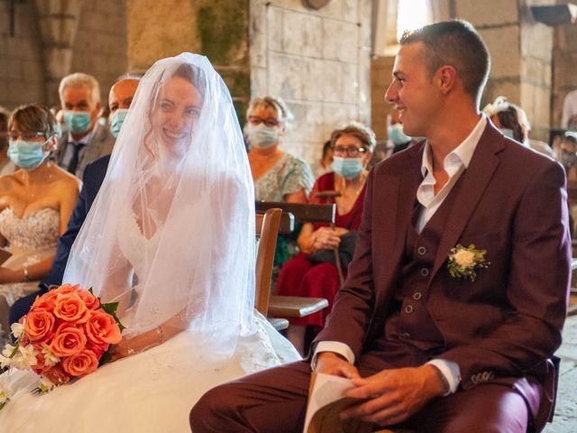 Le mariage de Sébastien et Virginie à Châtelus-le-Marcheix, Creuse 34